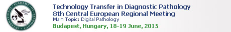 Technology Transfer in Diagnostic Pathology 8th CE Meeting - Digital Pathology