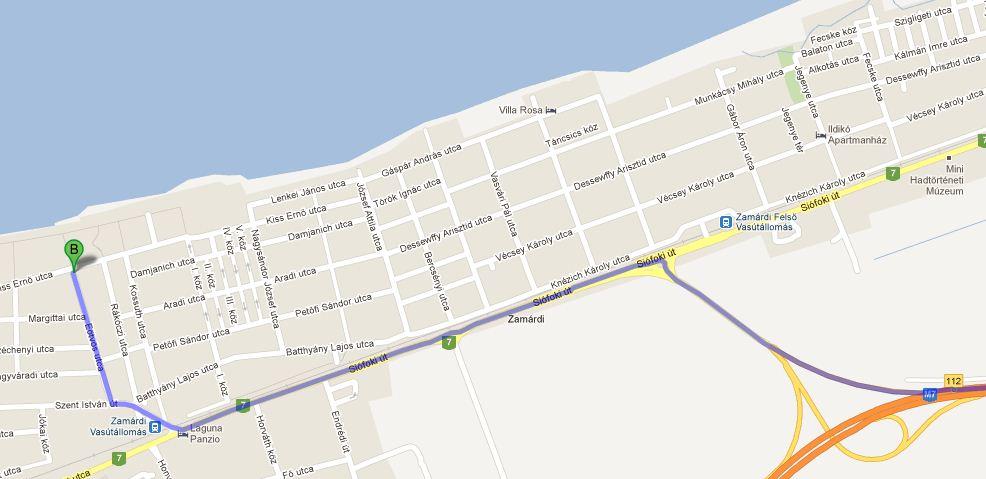 zamárdi térkép K&M Congress Kft.   kongresszus szervezés, idegenforgalom zamárdi térkép