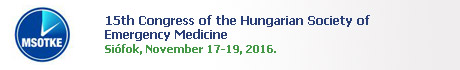 15th Congress of the Hungarian Society of Emergency Medicine